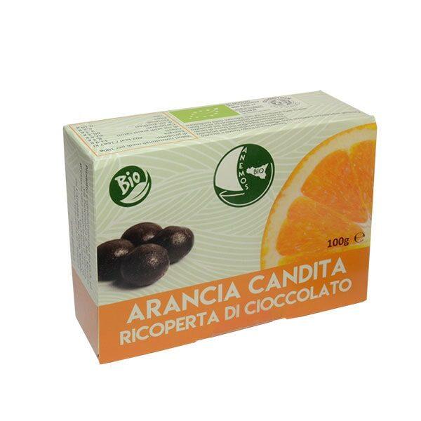 Arancia Candita Ricoperta di Cioccolato Bio