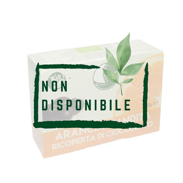 Arancia Candita Ricoperta di Cioccolato Bio non disponibile