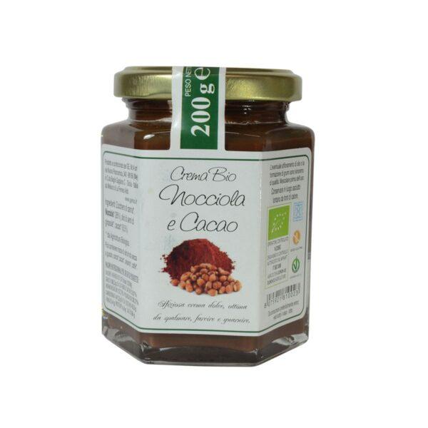 Crema Nocciole e Cacao Bio