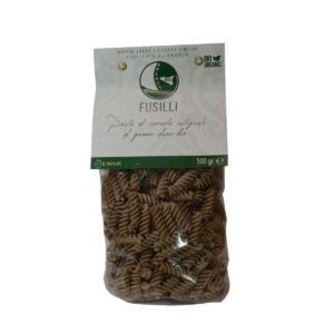 Organic Wholewheat Fusilli