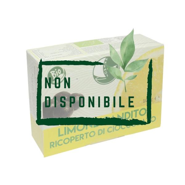 Limone Candito Ricoperto di Cioccolato Bio non disponibile