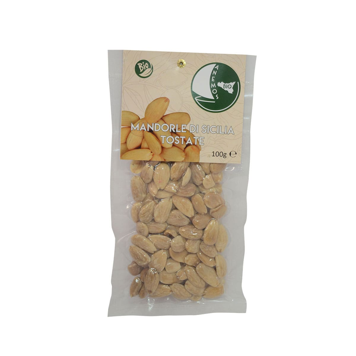 Organic Roasted Sicilian Almonds