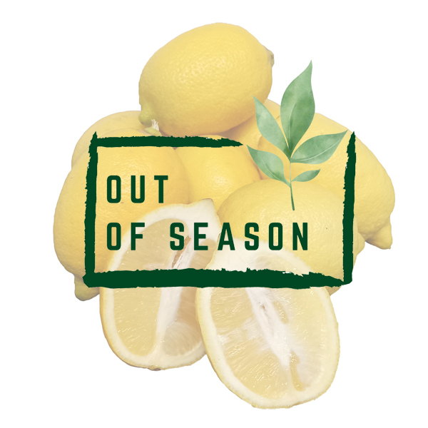 Organic Interdonato Lemons out of season
