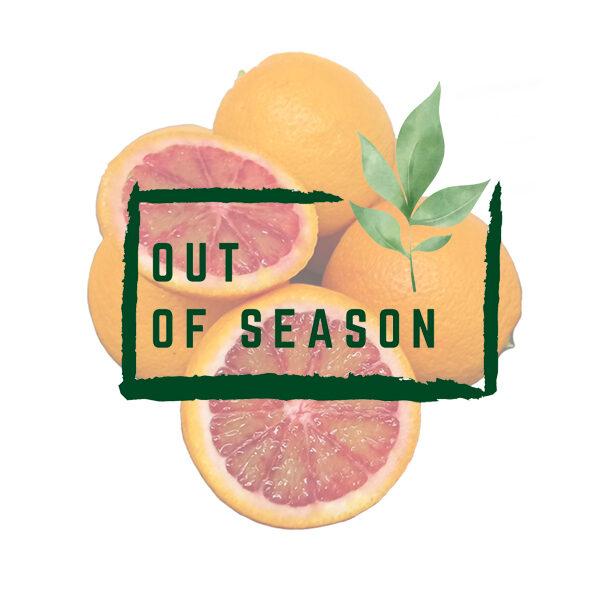 Organic Moro Blood Oranges out of season
