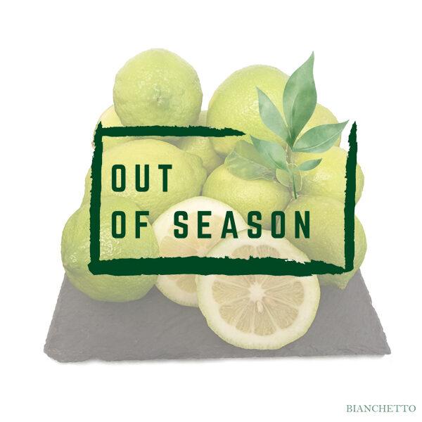 Bianchetto Lemons out of season
