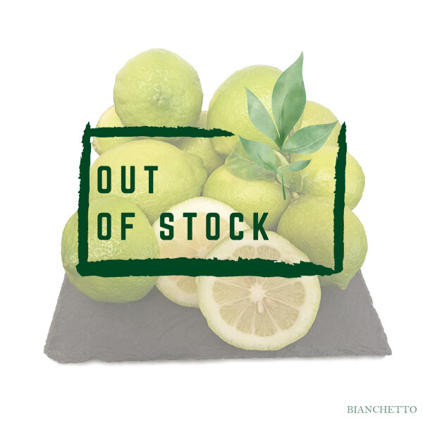 Bianchetto Lemons out of stock