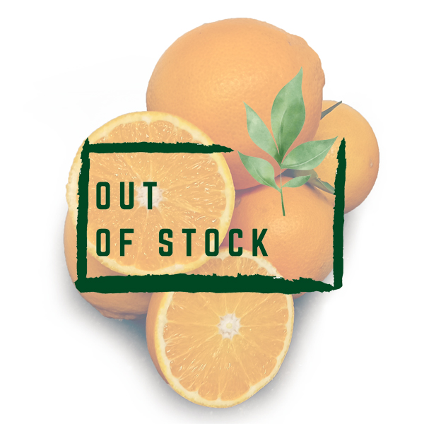 Organic Valencia Oranges out of stock