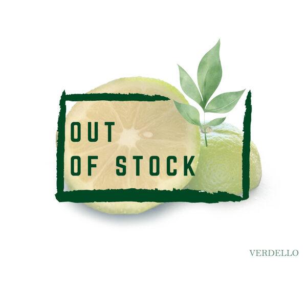 Organic verdello Lemons out of stock
